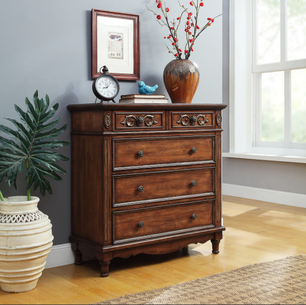 American classic cabinet with five drawers - buying leads