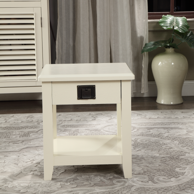 Ivory shoes stool