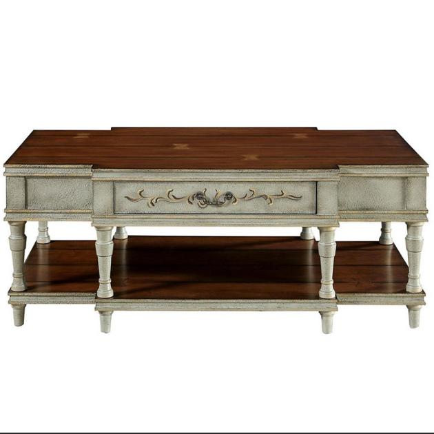 American classic white tea table