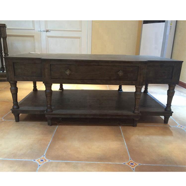 American solid wood tea table