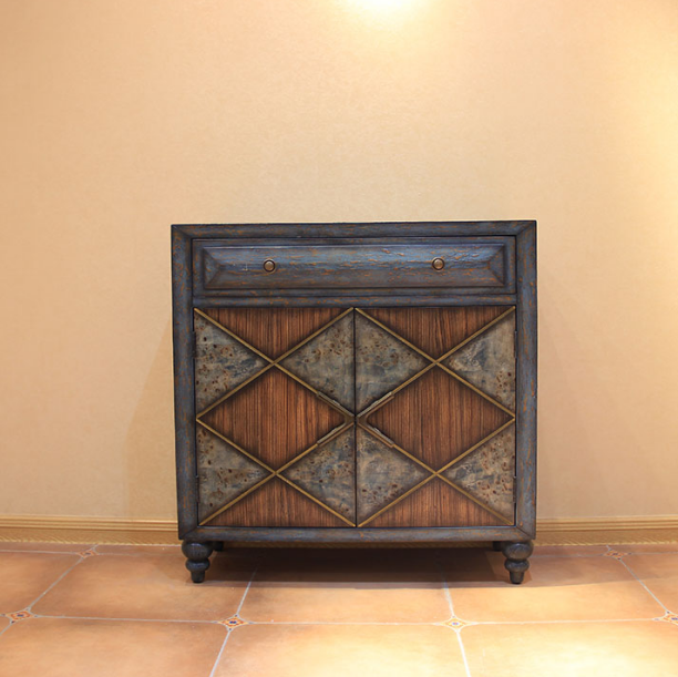 Hot sell cabinet with two doors and one drawer