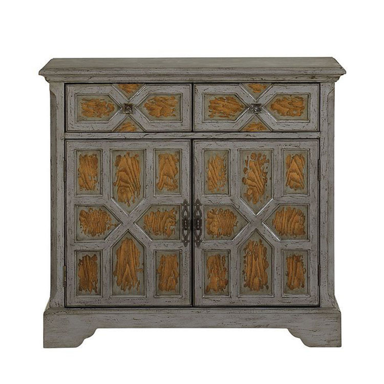 Hot-selling antique cabinet with two doors and two drawers