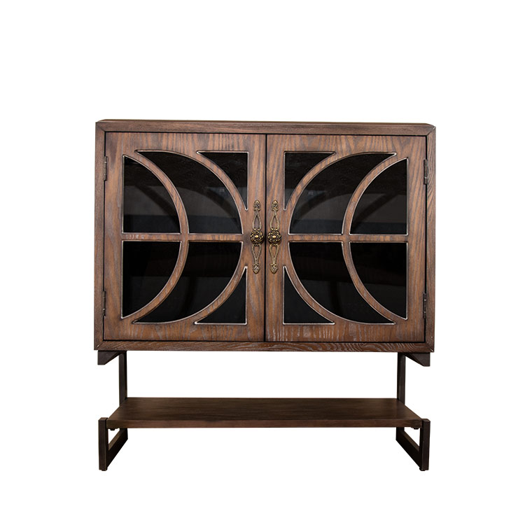 Decorative cabinet with two doors