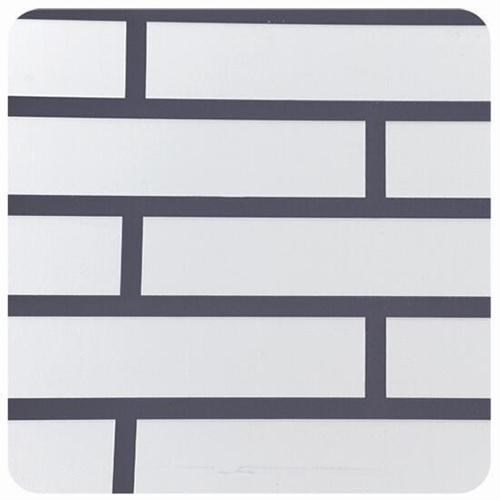 Brick aluminum plate