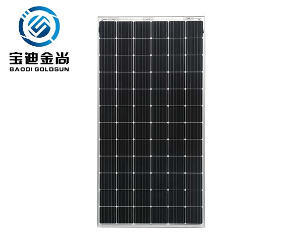 A Grade Trina ISO9001 5BB 36V 340W Monocrystalline Solar Plate for Home Use with Clean Energy in Florida