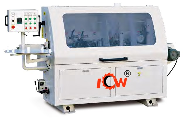 ICW MF380C High Speed Semi-Automatic Edge Banding Machine.
