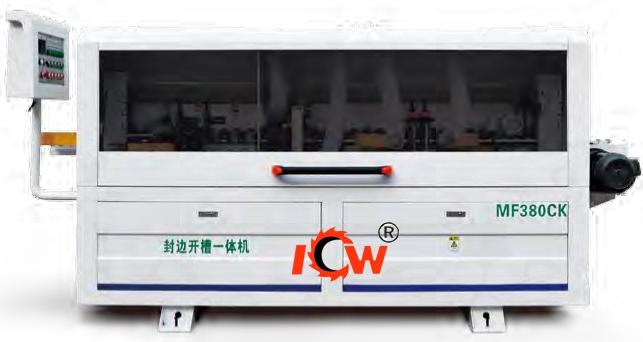 ICW MF380CK Semi-Automatic Double Grooving Edge Banding Machine - buying leads