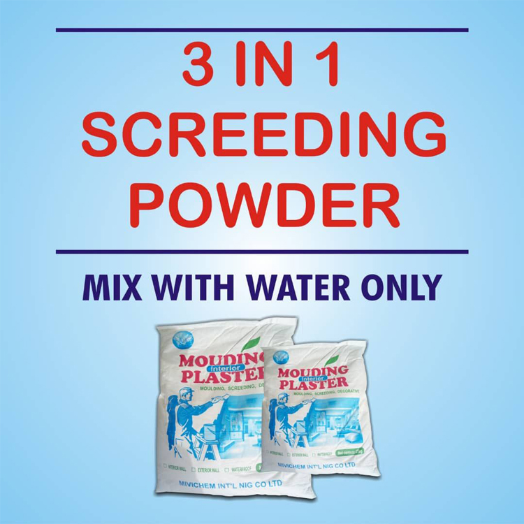 MIVI SCREEDING PLASTER- buying leads