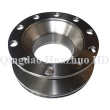 China foundry oem cast parts ductile grey iron sand casting with machining/5010582605-#0603