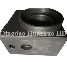 Sand casting Idler support with CNC Machining used in bulldozer spare parts/9S4325