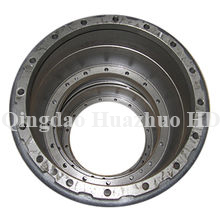 Sand casting Drum,Brake with CNC Machining used in bulldozer spare parts/4K6736-#4589