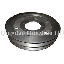 Sand casting Pulley with CNC Machining used in bulldozer spare parts/2P2406