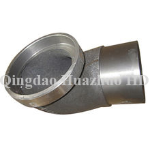 Sand casting Elbow with CNC Machining used in bulldozer spare parts/1P1087