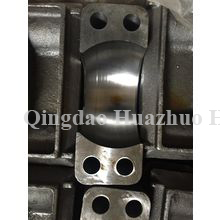 Sand casting Support with CNC Machining used in bulldozer spare parts/7UZG-35-#7826