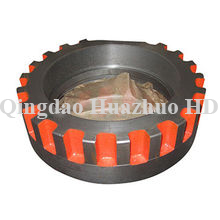 Sand casting Threded ring with CNC Machining used in bulldozer spare parts/3S8636-#2634