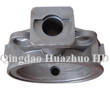 Sand casting Threded ring with CNC Machining used in bulldozer spare parts/Z-#060301