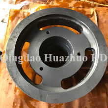 Ductile iron casting parts, Drilled and Slotted, OEM Orders are Welcome/6UHT-31-071102