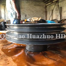 Iron casting parts, Drilled and Slotted, OEM is Welcome/ 6UHT-31-071102-#1481