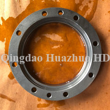 China foundry oem cast parts ductile grey iron sand casting with machining/7UHT-36-071507