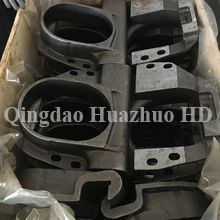 China foundry oem cast part steel iron sand casting with machining/ WH02-072317