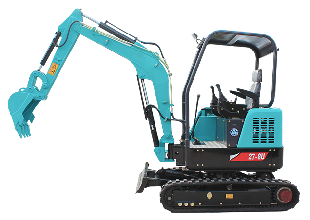 27-8u Mini crawler excavator