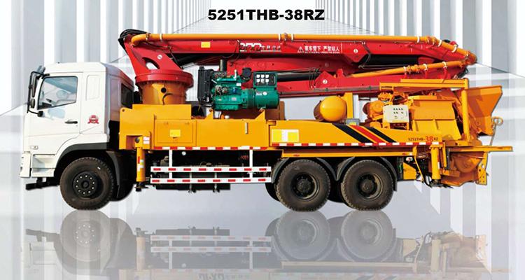 38m Truck-mounted Concrete Pump