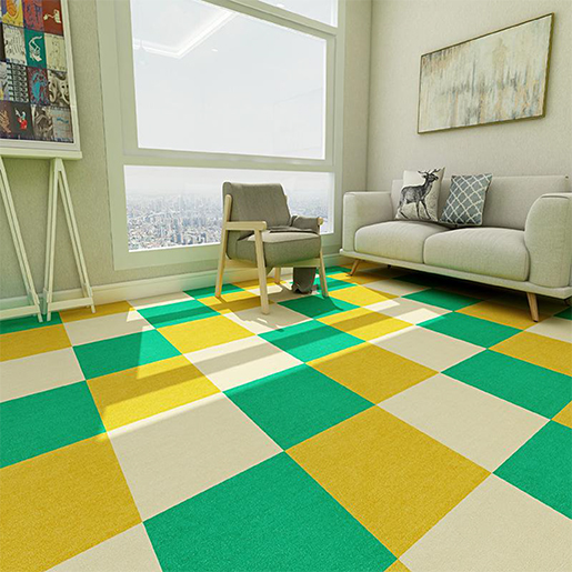 Full-piece corn fiber carpet in Bedroom/ living room/ bedside