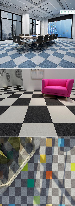 Rubik's Cube PVC carpet