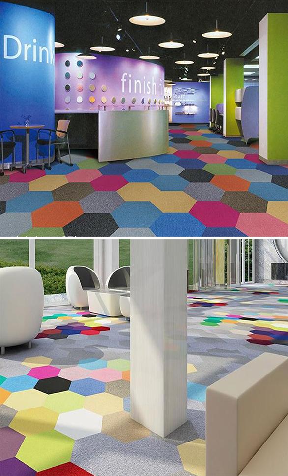 Monochrome Nylon carpet