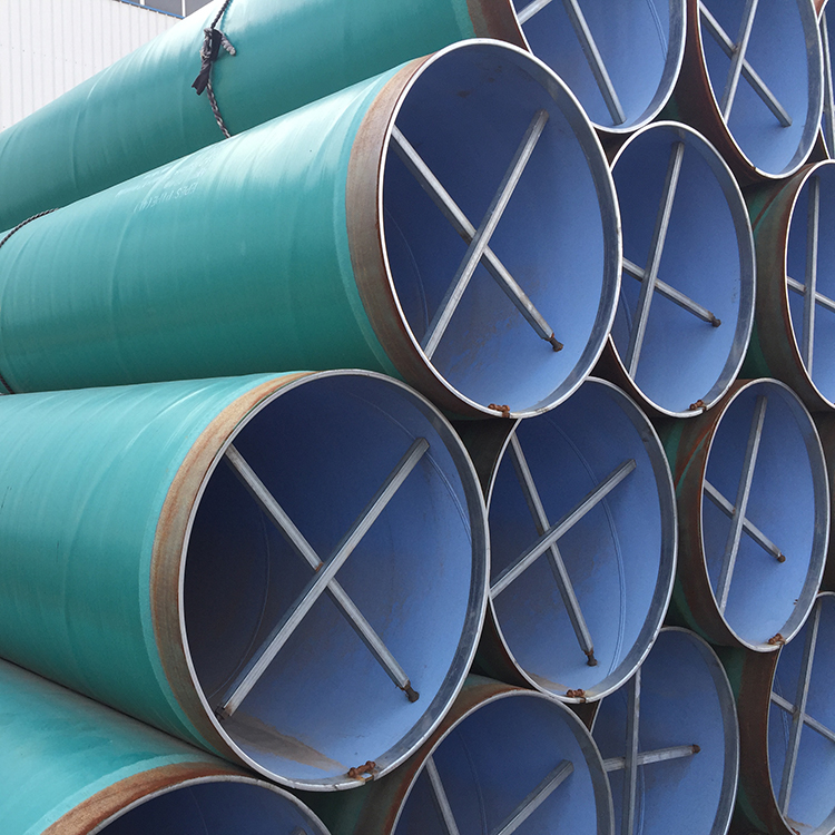 SSAW (spiral submerged arc welded pipe)