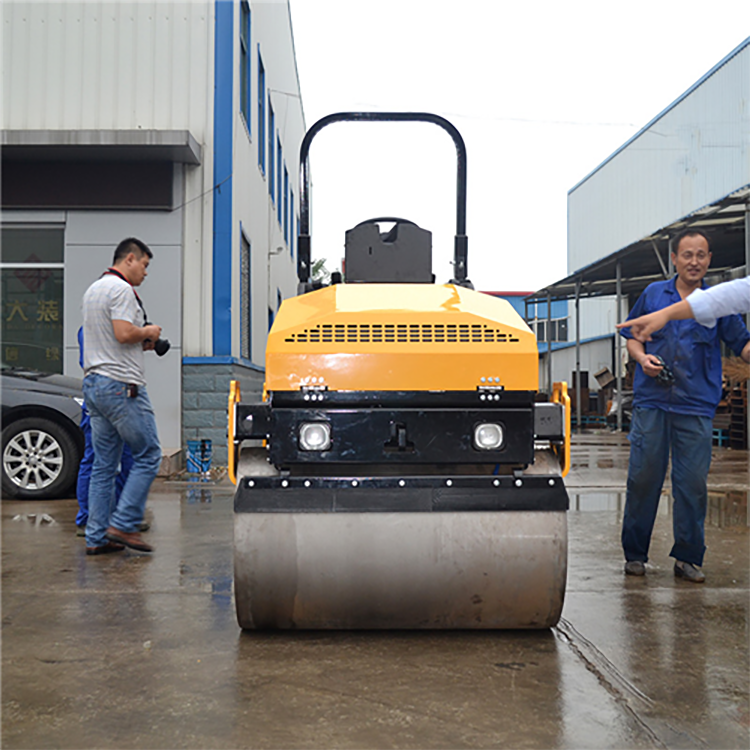 3 Ton Double Steel Wheel hydraulic Vibratory Compactor Road Roller