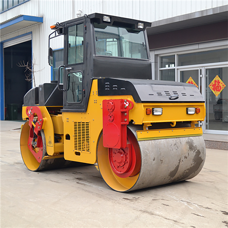 6 Ton Double Steel Wheel Vibratory Compactor Road Roller