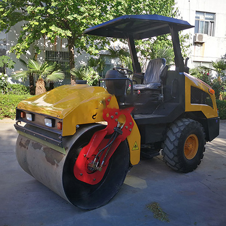 XZD-4.0 Single Steel Wheel Vibratory Road Roller