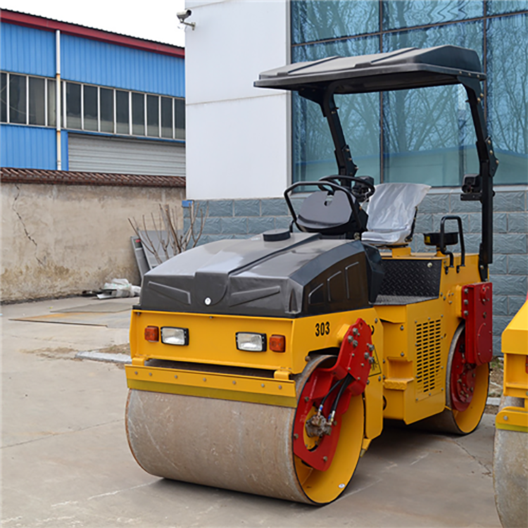 XZD-303 Double Steel Wheel Vibratory Road Roller