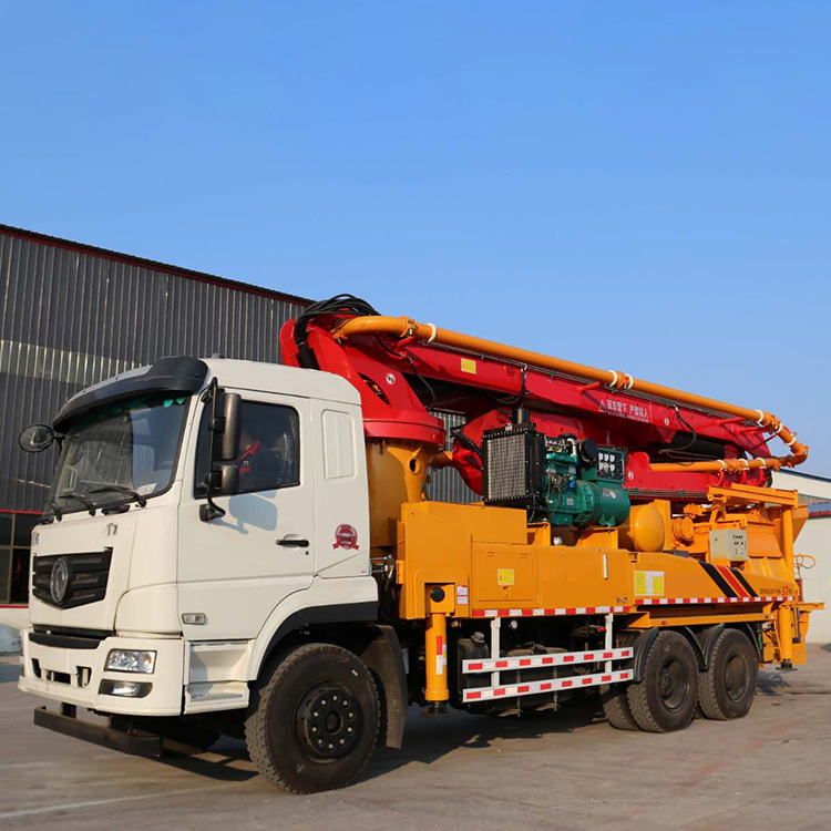 38m Truck-mounted Concrete Pump