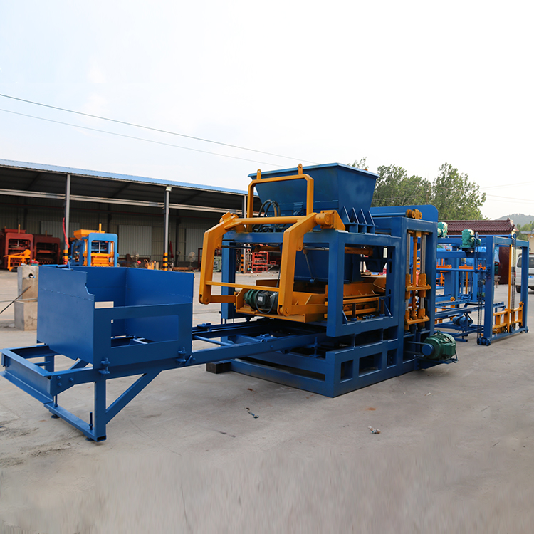 QT10-15 Automatic Block Pressing Machine