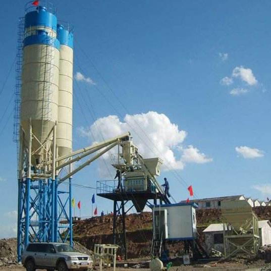 HZS50/2HZS50 Concrete Mixing Plant