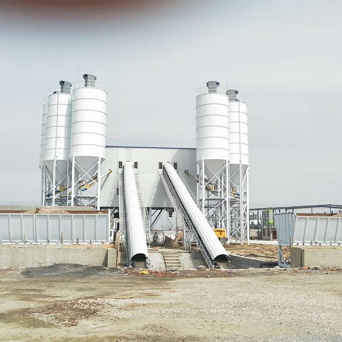 HZS180/2HZS180 Concrete Mixing Plant
