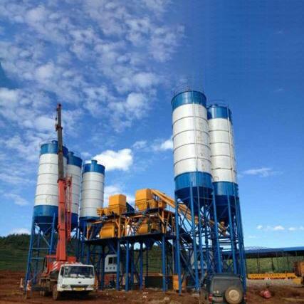 HZS90/2HZS90 Concrete Mixing Plant