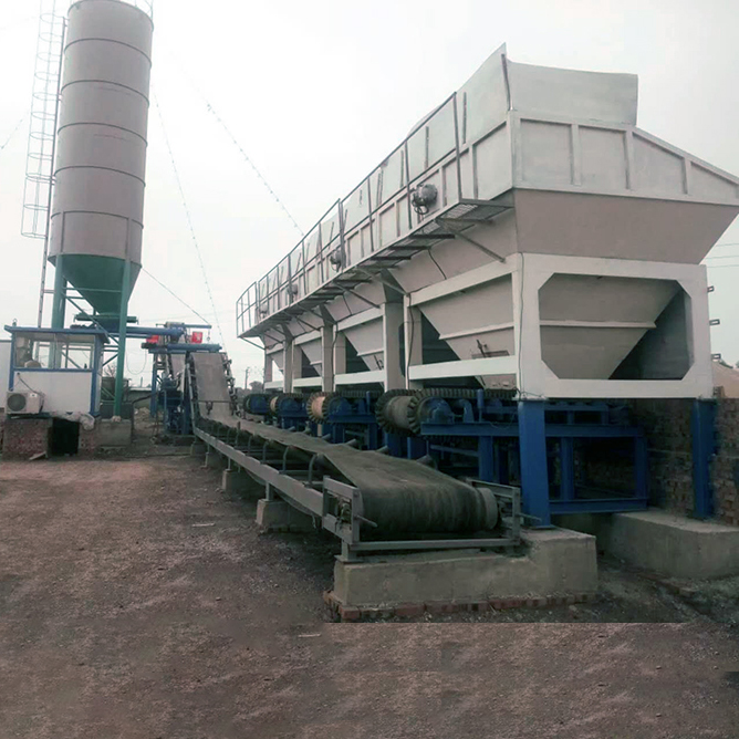 Stabilized soil mixing station 500