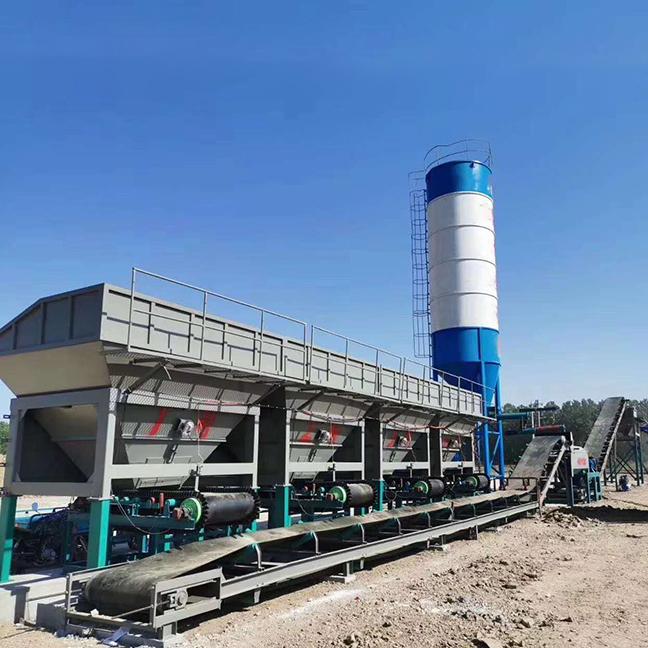 Stabilized soil mixing station 600