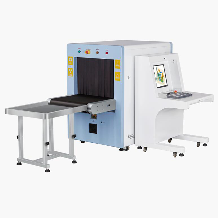 SD6550 X-Ray buggage scanner with inspection channel