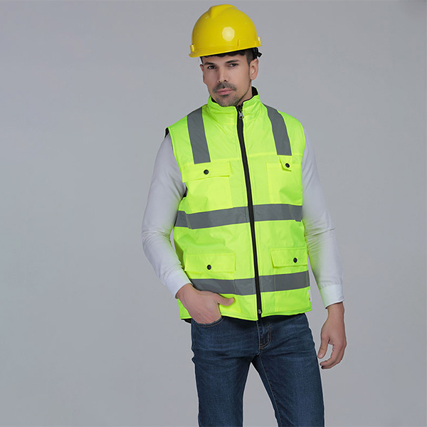Reflective cotton vest